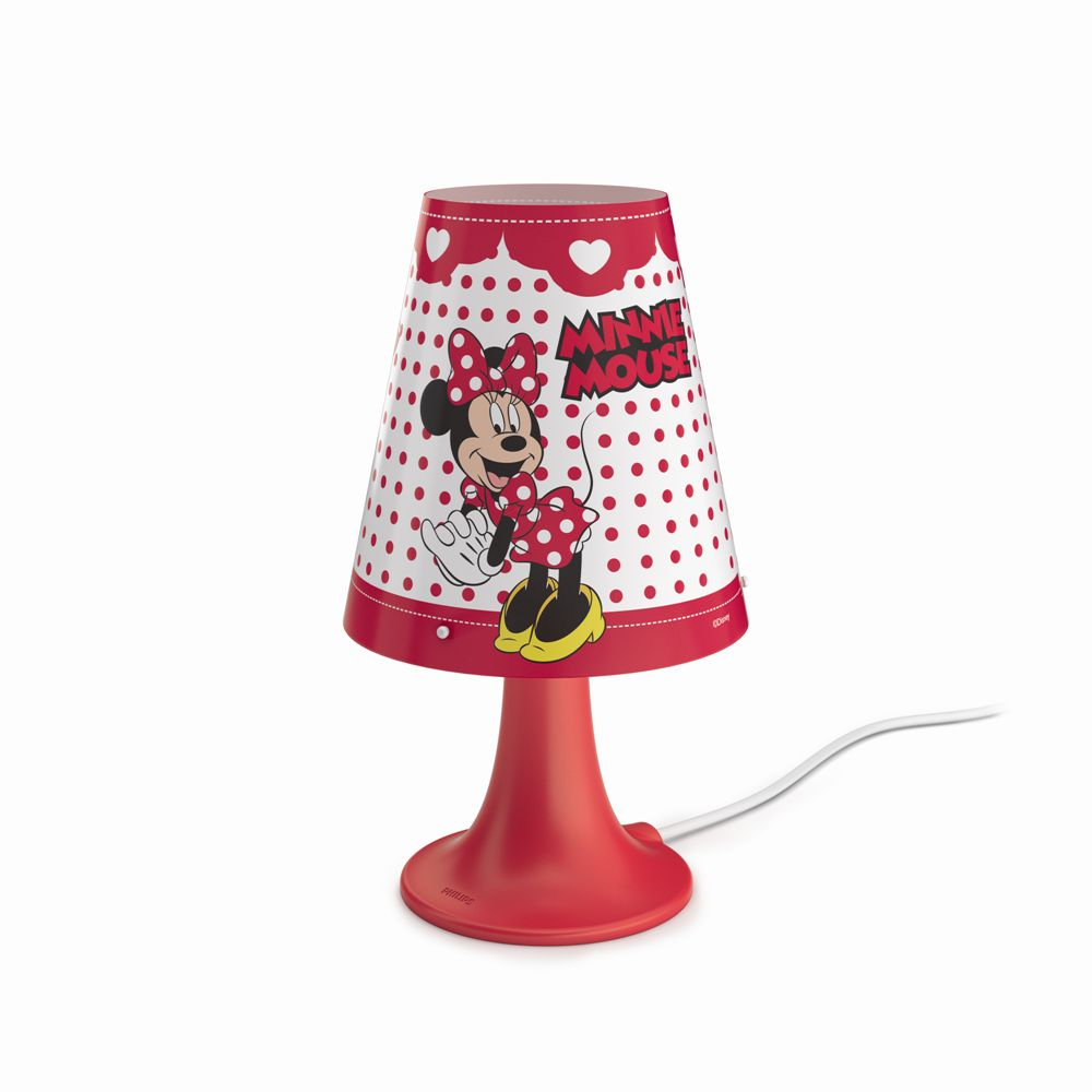 Philips Disney Minnie Mouse LAMPA STOLNÍ 1x23W SEL 71795/31/16