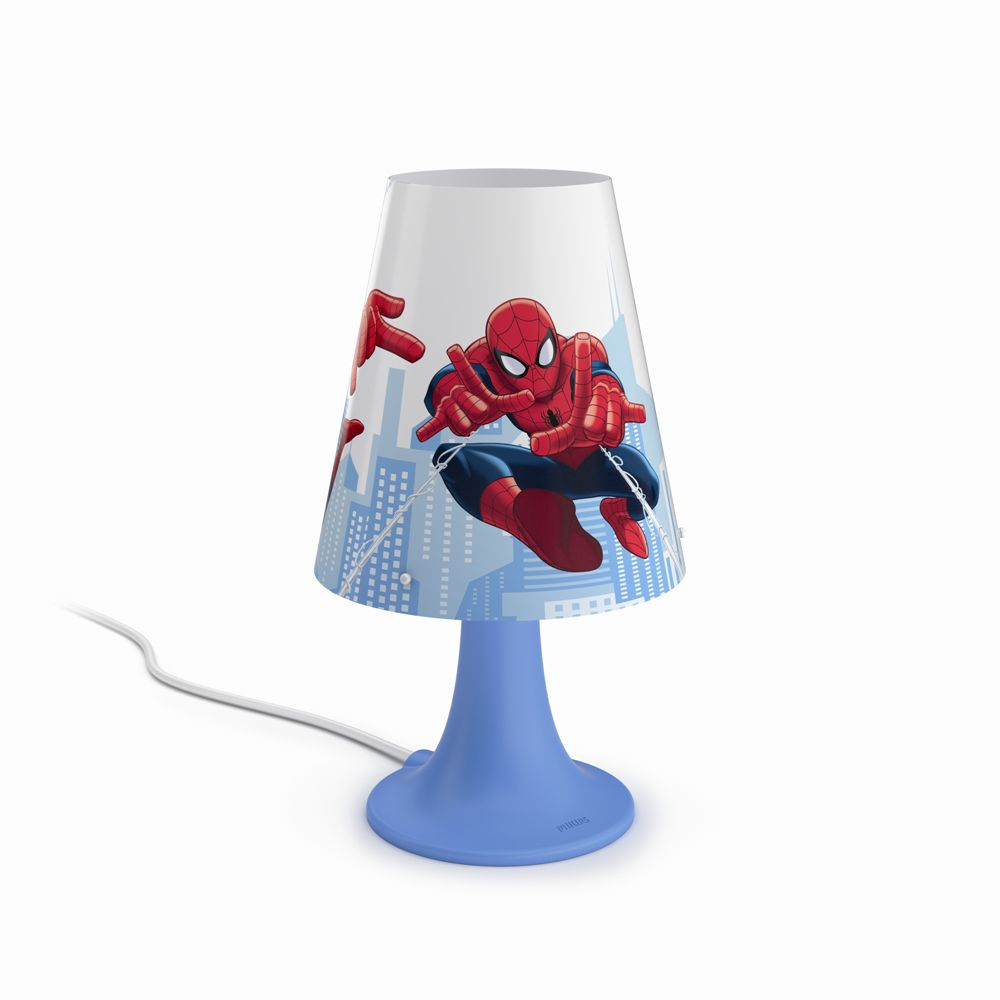 Philips Disney Spider-man LAMPA STOLNÍ LED 2,3W 220lm 2700K 71795/40/16