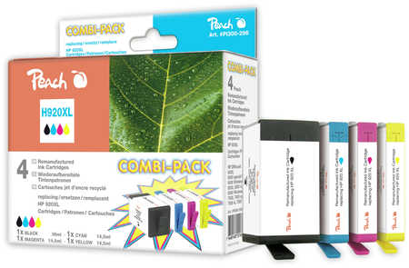 PEACH HP H920XL, HP 920XL, CombiPack XL, PI300-296